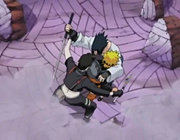 Sai intercepts Sasuke