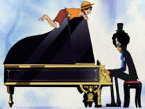 Luffy Asks Brook to Join Again
