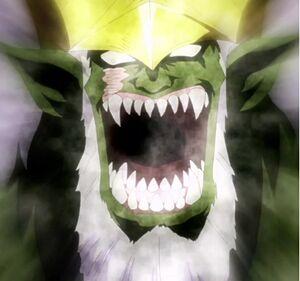 Elfman as a monster