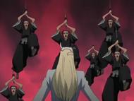 Kurodo attempts to attack Yylfordt