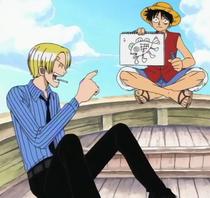 Luffy Draws Fishman