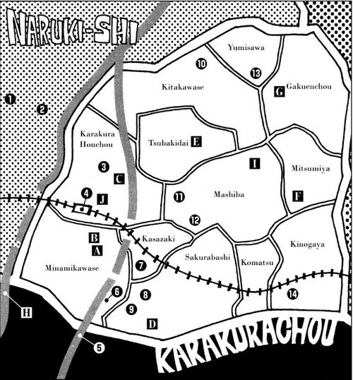 Map of Karakura