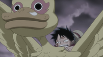 Luffy Emerges Victorious from Fight with Shiki