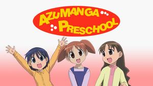 Azumanga Preschool 2nd Poster Art