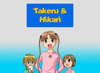 Takeru and Hikari (New Pic)