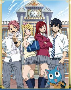 Fairy Tail OVA 2 Fairy Academy Yankee-kun and Yankee-chan