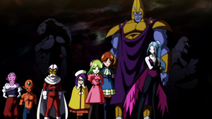 Universe 2 Team (Dragon Ball Super Ep 96)