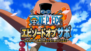 One Piece Sabo Special Title