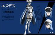 Esdeath Anime Concept 01