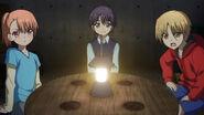 Maedomari, Medoki, Shichino (Charlotte Ep 10)