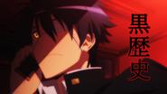 Kurusu's Chuunibyou Past (Monster Musume Ep 12)