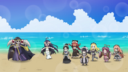 Fun at the Beach with Ainz and maids (Overlord OVA 7)