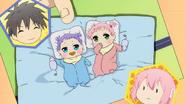 Baby Twins Satsuki and Uzuki (Danchigai Ep 08)