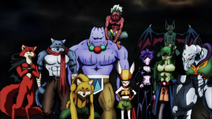 Universe 9 Team (Dragon Ball Super Ep 96)