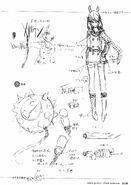 Seryu Concept Sketches