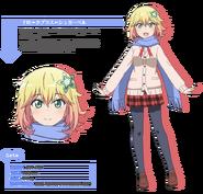 Tapris Sugarbell Chisaki Anime Concept Art