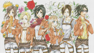 Attack on Titan Ep. 20 End Card