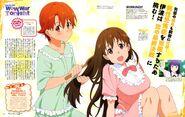 Inami, Popura, and Aoi (Animedia Oct 2015)
