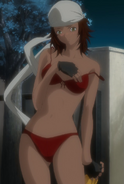 Natsumi Iriya Stitched Cap (Air Gear Ep 13)