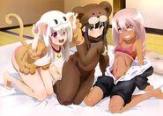 Illyasviel, Kuroe, and Miyu (Nyantype 83)