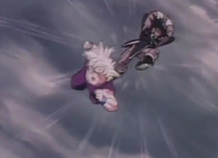 File:443px-Turles about to hit gohan.png
