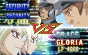 Grace and gloria vs security