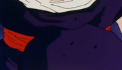 Picccolo kneed gohan in the stomach