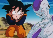 Kid goten hurt bt frieza