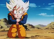 Goten feeling to his knees2