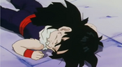 Picccolo punched gohan in