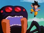 Gt kid goku vs giant spider2
