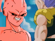 Kid buu fights gotenks
