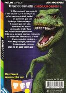 Animorphs megamorphs 2 time of dinosaurs french back cover