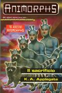 Animorphs 52 the sacrifice Il Sacrificio Italian cover