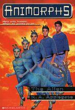 Animorphs 8 The Alien front cover hi res