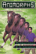 Animorphs 14 the unknown Tuntematon Finnish cover