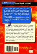 Animorphs book 8 The Alien back cover