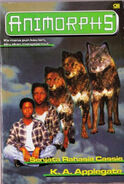 Animorphs book 9 indonesian cover