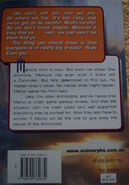 Animorphs 30 the reunion australian back cover with web site