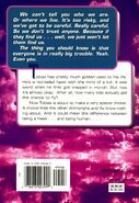 Animorphs 13 the change back cover
