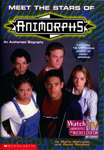 File:Meet the stars of Animorphs front cover.jpg