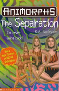 Animorphs 32 the separation UK cover