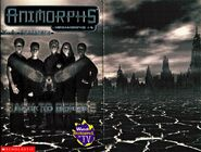 Animorphs megamorphs 4 back to before cover plus inside cover