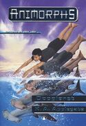 Animorphs 15 the escape Oppgjoret Norwegian cover