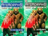 Animorphs 7 the stranger Kẻ lạ mặt vietnamese books 13 and 14