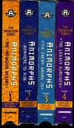 US VHS all four side spines logo