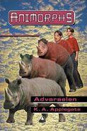 Animorphs 16 the warning Advarselen Norwegian cover