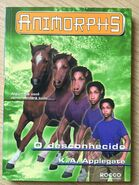 Animorphs 14 the unknown o desconhecido brazilian cover