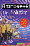 Animorphs 22 the solution UK cover