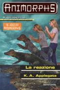 Animorphs 12 the reaction La reazione italian cover
